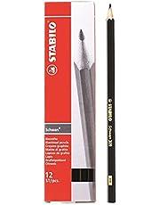 STABILO 309 Graphite 2B Pencils - Box of 12