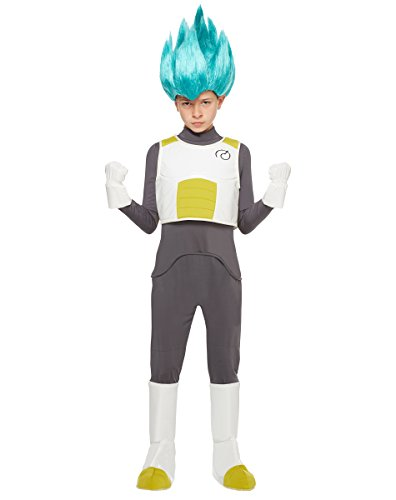 Spirit Halloween Kids Vegeta Costume - Dragon Ball Z Resurrection F (Vegeta Costume For Kids)
