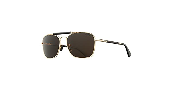 101a9096ac Amazon.com  Zeal Optics Draper Polarized Sunglasses - Polished Gold Frame  with Copper Lens  Sports   Outdoors