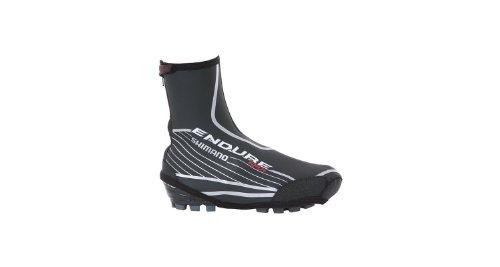 Shimano - Cubierta para el zapato (Talla XXL (47-49), 72% caucho estireno-butadieno, 18% poliéster, 10 % PU), color negro