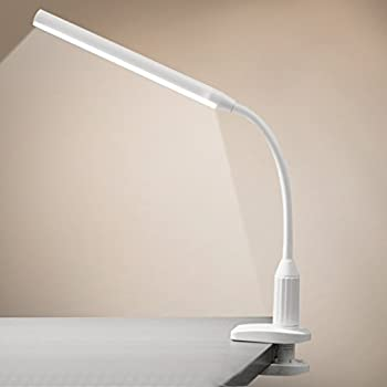 lelife reading light clip on light with dimmertouch reading lamp clamp