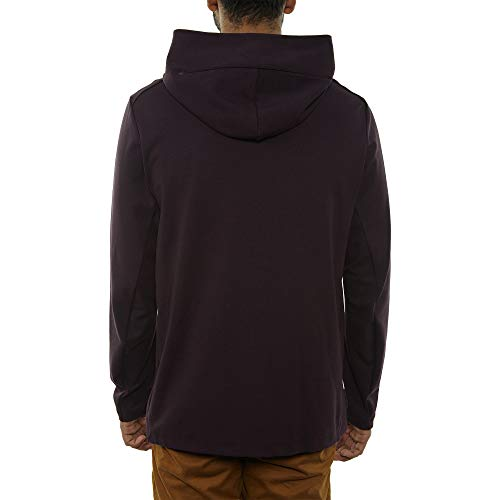 Nike Mens Tech Fleece Pack Full Zip Training Hoodie Burgundy Ash/Black AA3784-659 Size Small by Nike (Image #2)