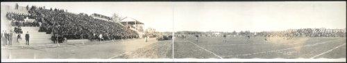 HistoricalFindings Photo: 1913 Panoramic: Purdue 34 - Northwestern 0,Football,West Lafayette, Indiana