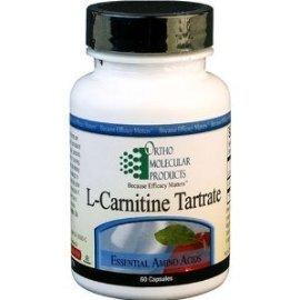 Орто молекулярных продуктов - L-карнитин (как L-тартрат) 500 мг - 120 капсул