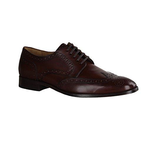 Sioux Hombre Zapatos De Cordones Nandor Marrón
