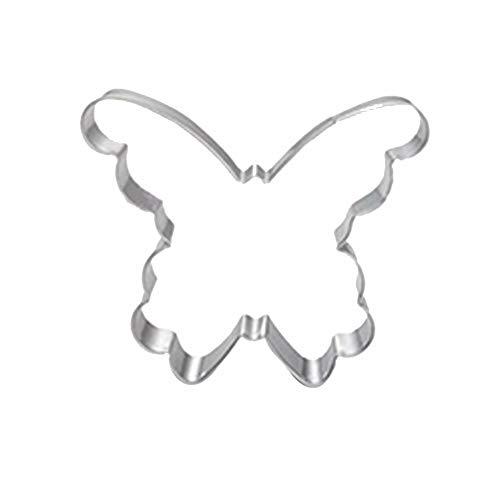 Cosanter 1x Forma de Mariposa Acero Inoxidable Zanahoria Molde Dibujos Animados Molde de Multifuncional Reutilizable…