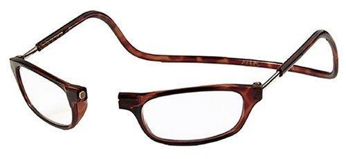 New Anti Fatigue No Tiredness Handy Clic Design Reading Glasses +2.00 & Adjustable Front Connect Reader by AV - Glasses Av