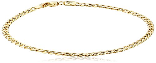 Yellow Gold Curb Link Bracelet