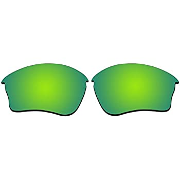 4dfa5189fd Replacement Sunglasses Lenses for Oakley Half Jacket XLJ With Polarized  (Not Fit Half Jacket 2.0 and Half Jacket 2.0 XL) (Emerald Green Mirror)