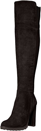 Aldo Women's Cayoosh Over The Knee Boot, Black Suede, 7.5 B US by Aldo