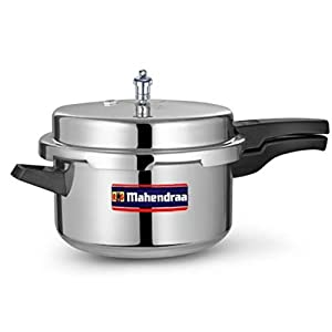 Mahendraa Pressure Cooker 7.5 litres With Outer Lid – Instant Pot , Ergonomic User Friendly Handle , Food Grade Rubber…