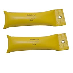 DSS SoftGrip Hand Weight -pair (7 lb. - Yellow - pair)