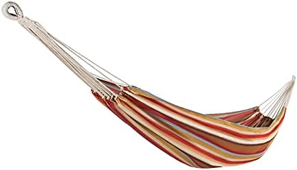 Bliss Hammocks BV-401-TA Breathable Performance Double Hammock in a Bag, Polyester, Portable, Supports up to 400-Pounds for Camping, Hiking and Outdoors, Toasted Almond