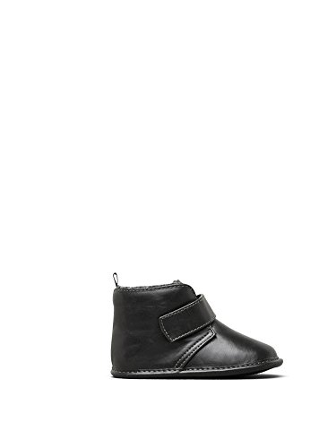 Kenneth Cole REACTION Boys' Baby Real Strap-K Oxford, Black, 3 M US -