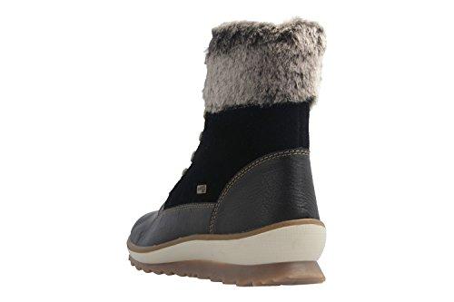 REMONTE - Damen Boots - Schwarz Schuhe in Übergrößen