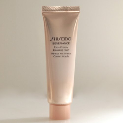 - Shiseido Benefiance Extra Creamy Cleansing Foam 30ml/1OZ, Travel Size