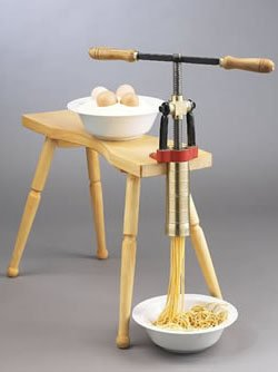 Torchio Bigoli Hand Press Pasta Maker by Bottene