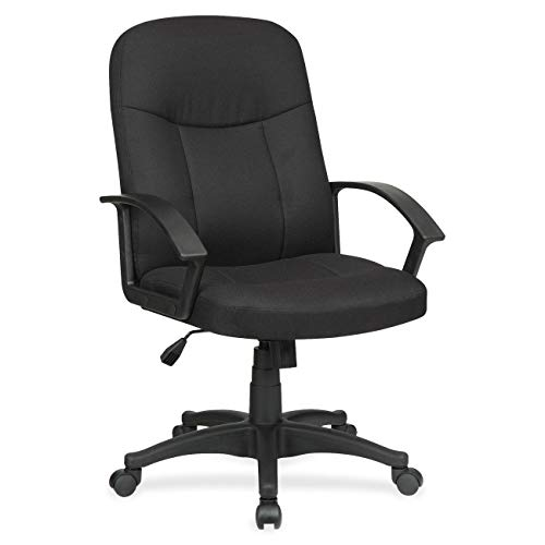 Lorell LLR84552 Executive Mid-Back Chairs, 4