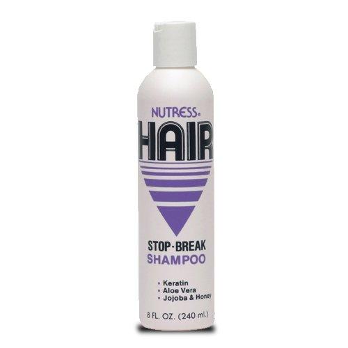 Nutress Hair Stop Break Shampoo 8 oz, Healthy hair, clean hair, keratin, protein , balanced hair, jojoba oil, honey