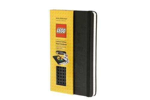 Read Online By Moleskine - Moleskine Ruled Large Limited Edition Lego Notebook - Black Brick (4.5.2012) pdf