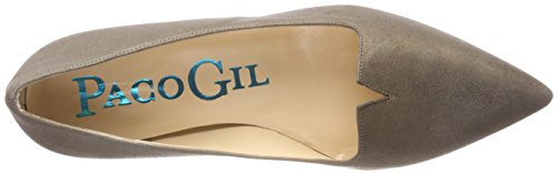 Paco Gil Women's P-3388 Closed Toe Ballet Flats Brown (Taupe) outlet store sale online pay with visa cheap price gofV97xMdS