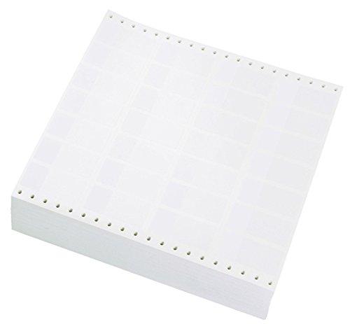Panduit S200X650VADY Dot Matrix Self-Laminating Label, 2.00 by 6.50', Vinyl, White (Pack of 1000)