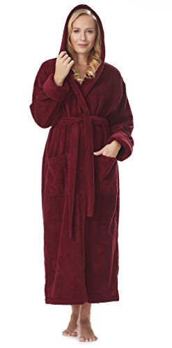 Arus Womens Organic Turkish Bathrobe