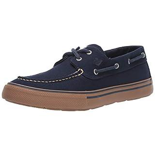 Sperry Mens Bahama Storm Duck Canvas Sneaker, Navy, 9.5