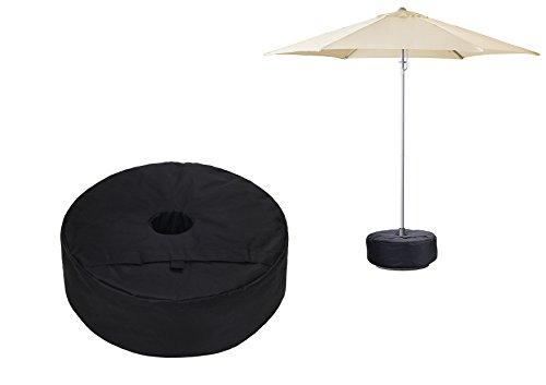 Tikteck Canopy Patio Beach Round Umbrella, tent Base Weightbag, Banner Cross Base Weight sand Bag DURABLE 15'' by Tikteck