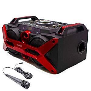 Lauson SS308 Altavoz Bluetooth Portátil Función de Karaoke y ...