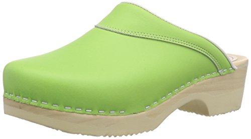 l 4010 Mules Bigh grün 18 Flexibler Gevavi Femmes Grün groen Vert 8OqwWpfx