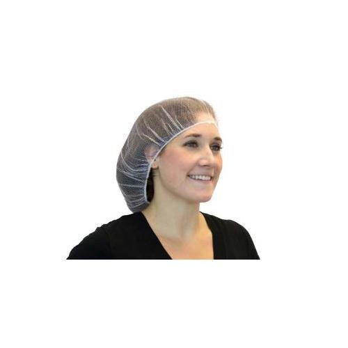 Safety Zone DPHN-21-1 Heavyweight Hairnet, 21'' Size, Polyester, White (Pack of 1000)
