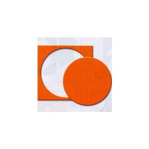 Artemio 3.5 cm Circle 3.33 cm Lever Punch, Orange VIHCP916