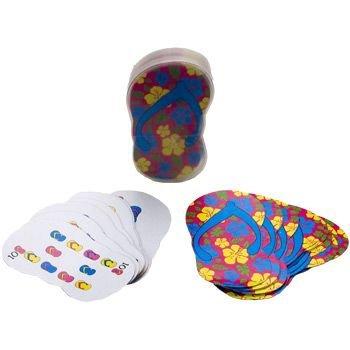 Flip FlopShaped Playing Cards (1 Dozen) by Fun Express