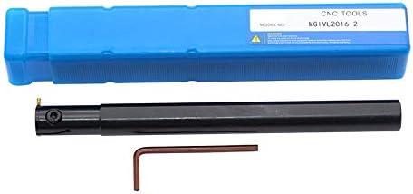 FMN-TOOLS, MGIVR2016-1.5 MGIVR2016-2 2,5 mm 3 mm Torno CNC mecanizado Interior trocear Portaherramientas Ranura de Corte Interior del Agujero Groove (Color : NO Insert, tamaño : MGIVL2016 2): Amazon.es: Hogar