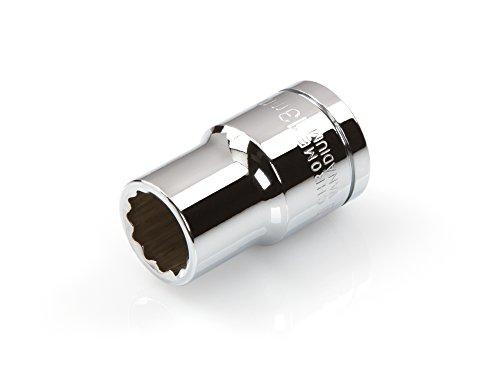 Single Drive Socket (TEKTON 14226 1/2-Inch Drive by 13 mm Shallow Socket, Cr-V, 12-Point)