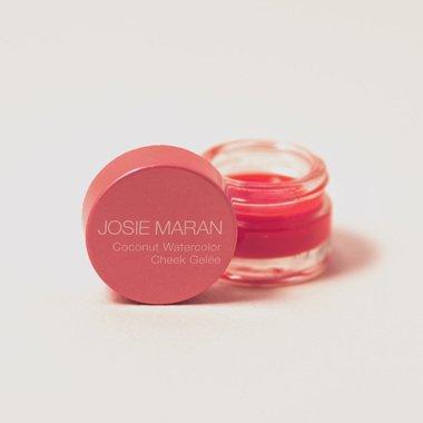 Josie Maran Coconut Watercolor Cheek Gelee (Travel (.095oz/2.7g), Poppy Paradise) by Josie Maran