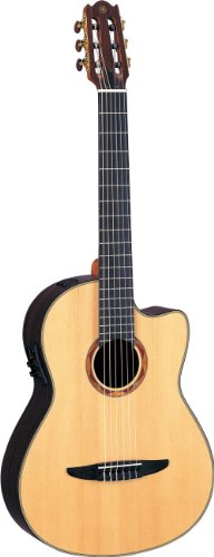 Yamaha NCX1200R Acoustic-Electric Classical Guitar, Solid...
