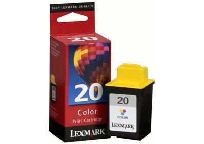 Lexmark 20 (15M0120) Color OEM Genuine Inkjet/Ink Cartridge (275 Yield) - Retail