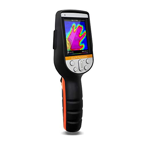 PerfectPrime IR0280, Infrared (IR) Thermal Imager & Visible Light Camera/Video Record 1024 Pixels & Temperature Range from -22~1832°F