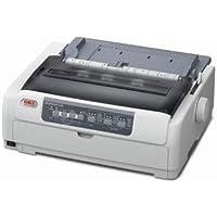 Oki MICROLINE 691 Dot Matrix Printer - Monochrome - 24-pin - 480 cps Mono - 360 x 360 dpi - USB - Parallel 62434101