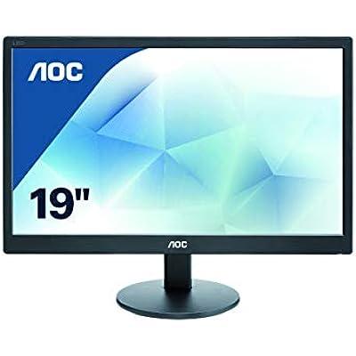 AOC e970Swn 18 5  Widescreen LED Black Monitor  1366x768 5ms VGA