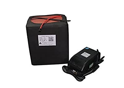 72V 35AH Lithium Battery Portable Battery For E-Bike Scooter Power Packs+BMS 5A Charger