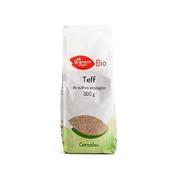 Semilla de Teff Bio 500 gr de El Granero Integral: Amazon.es ...