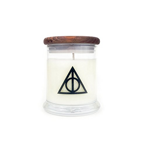 Deathly Hallows - Butterbeer Scent - Harry Potter Quote Soy Candle - Book Lover Gift - Movie Lover Gift