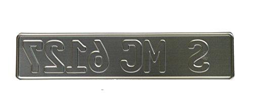 Crystal license plate frames