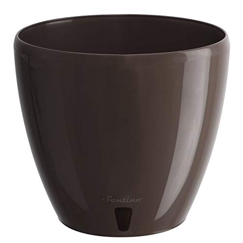 Santino Self Watering Planter Deco 6.7 Inch Shade Flower Pot