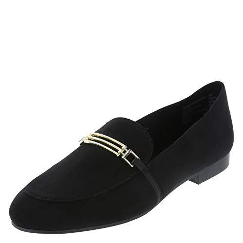 (Brash Black Suede Women's Darby Bit Loafer 7 Regular)