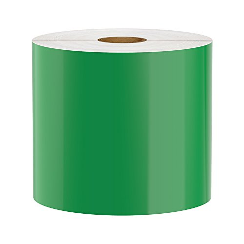 LabelTac Compatible Premium Vinyl Tape Supply, Green, 4