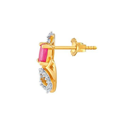 Giantti Diamant Mode Femme Boucles d'oreilles à tige (0,16CT, VS Clarté, Gh-colour)